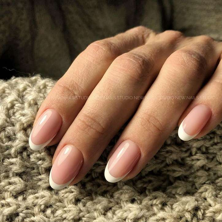 French manicure photo # 1