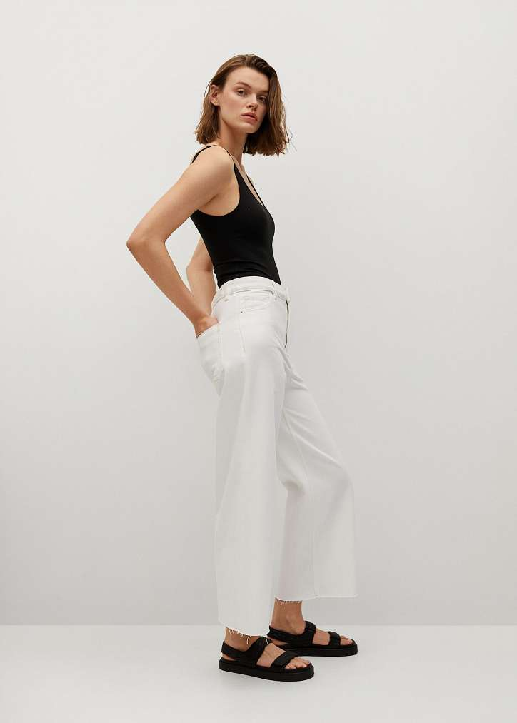 With what to wear white jeans: stylish bows on the note photo # 1