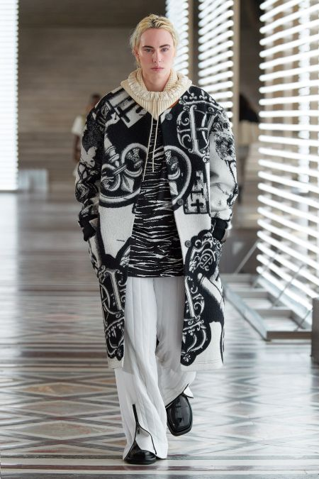 Louis Vuitton White Zip Sweatpants