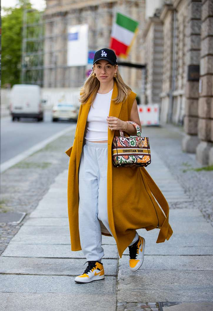 Sport-chic style: ideas of fashionable images photo # 1