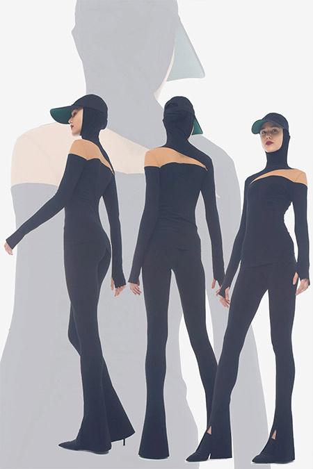 Sweatpants by Norma Kamali FW2021-2022