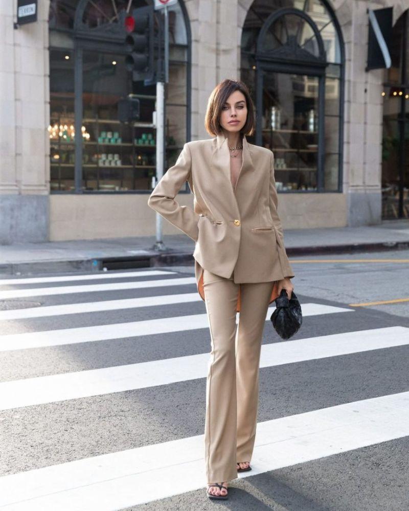 stylish trouser suit
