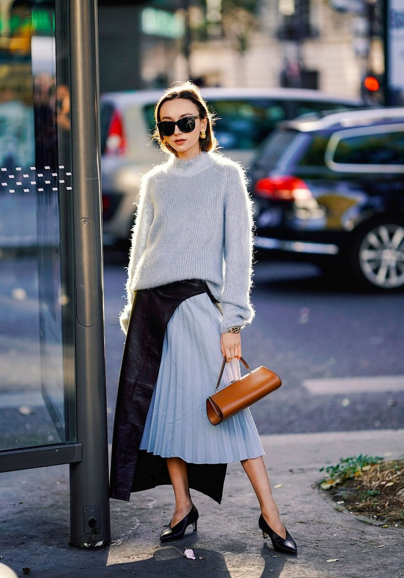 Fashionable skirts fall-winter 2021-2022