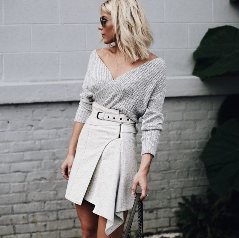 stylish women's skirts for autumn and winter
