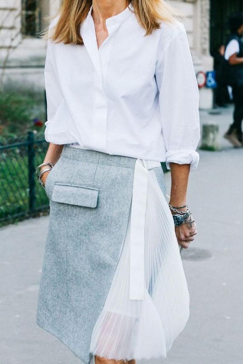 Layered fashion skirt