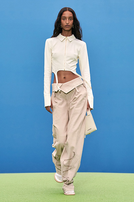 Jacquemus sporty trousers fall-winter 2021-2022