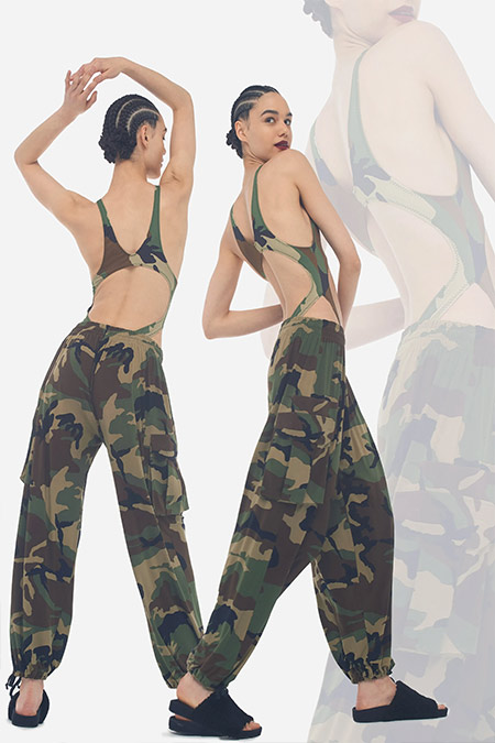 Norma Kamali Military Joggers