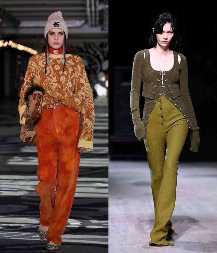 Fashionable trousers fall-winter 2021-2022 photo # 19