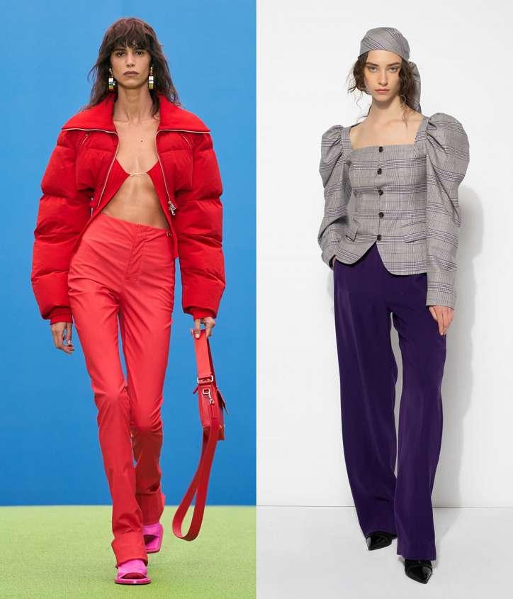 Fashionable trousers fall-winter 2021-2022 photo # 30
