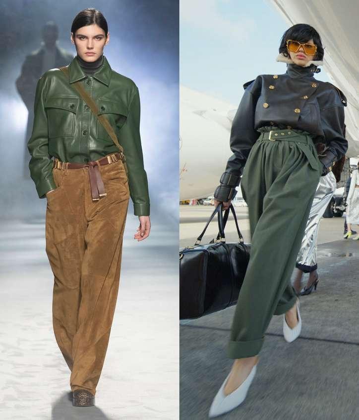 Fashionable trousers fall-winter 2021-2022 photo # 31