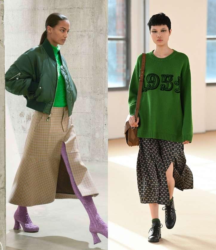 Fashionable skirts fall-winter 2021-2022 photo # 12