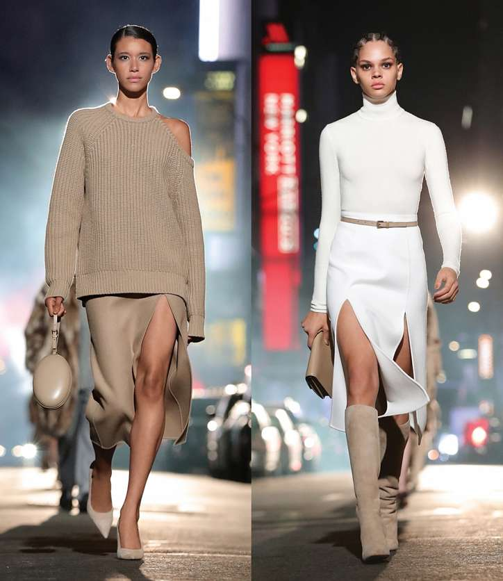 Fashionable skirts fall-winter 2021-2022 photo # 11