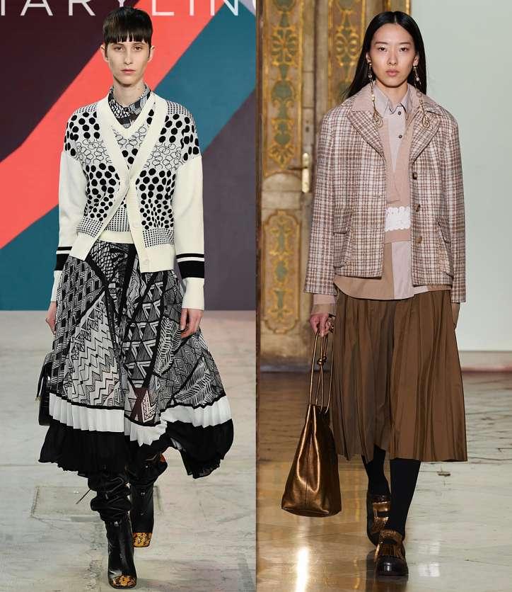Fashionable skirts fall-winter 2021-2022 photo # 10