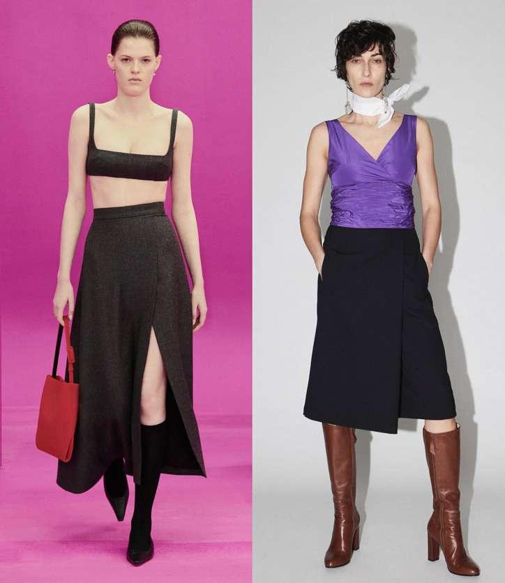 Fashionable skirts fall-winter 2021-2022 photo # 20