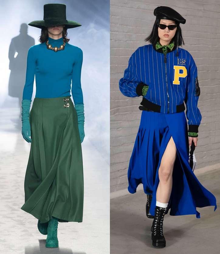 Fashionable skirts fall-winter 2021-2022 photo # 18