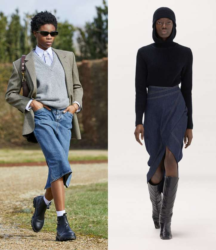 Fashionable skirts fall-winter 2021-2022 photo # 14