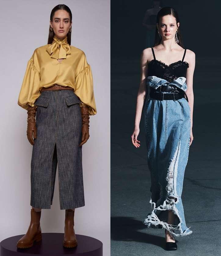 Fashionable skirts fall-winter 2021-2022 photo # 15