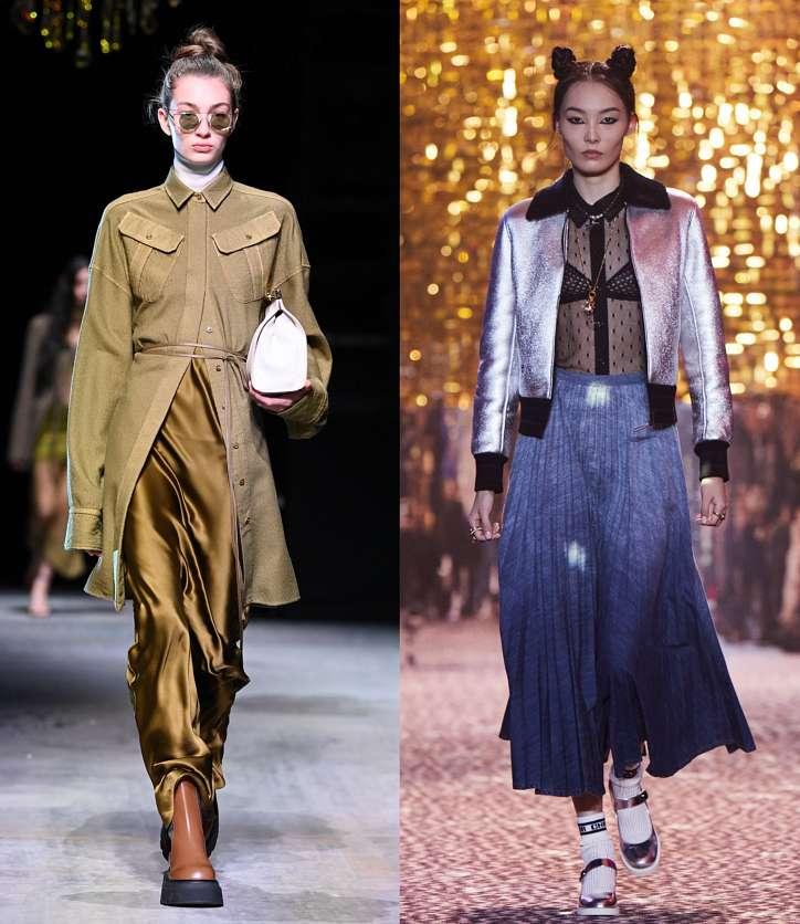 Fashionable skirts fall-winter 2021-2022 photo # 17