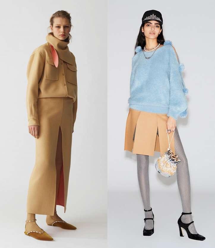 Fashionable skirts fall-winter 2021-2022 photo # 13
