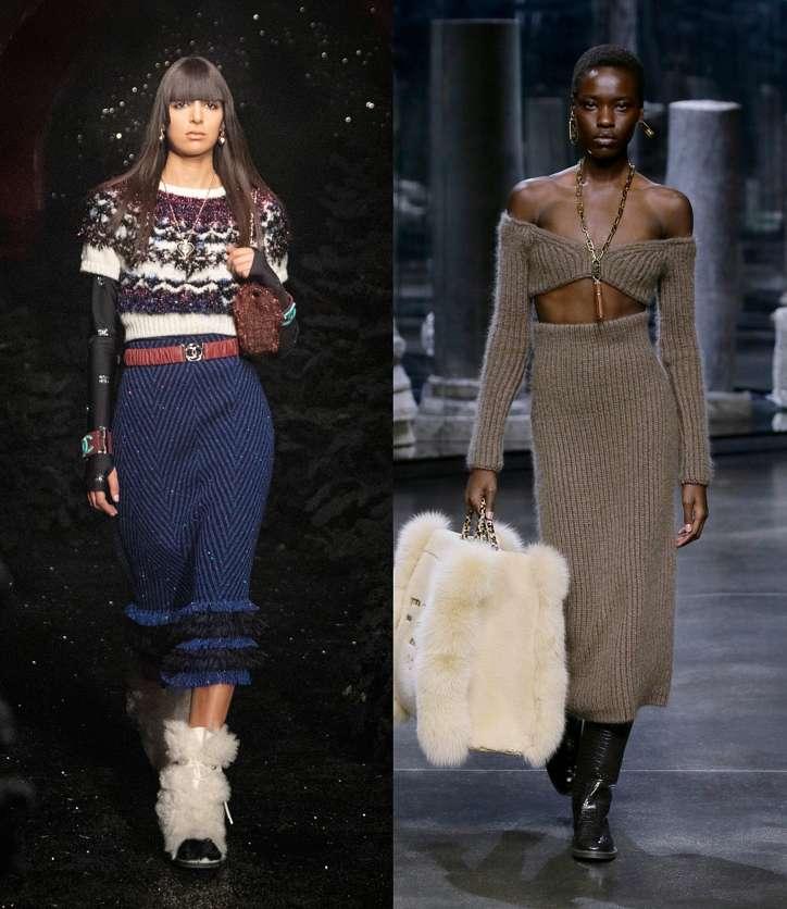 Fashionable skirts fall-winter 2021-2022 photo # 22