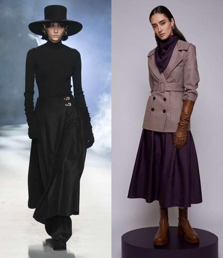 Fashionable skirts fall-winter 2021-2022 photo # 23