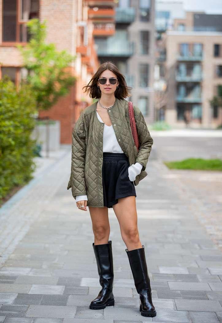 Autumn bows: 20 stylish ideas for fashionable girls photo # 13