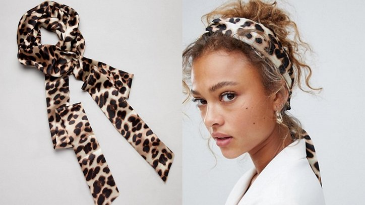 How beautiful to wear a scarf - stylish ideas for a note photo # 11