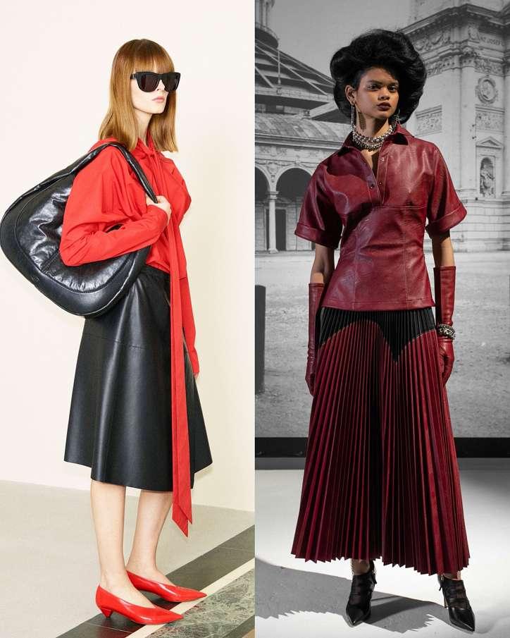 Fashionable skirts fall-winter 2021-2022 photo # 1