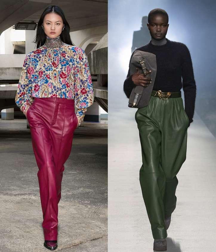 Fashionable trousers fall-winter 2021-2022 photo # 1