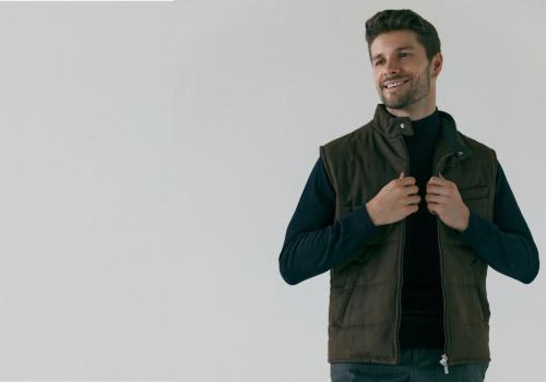 Fashionable men's vest