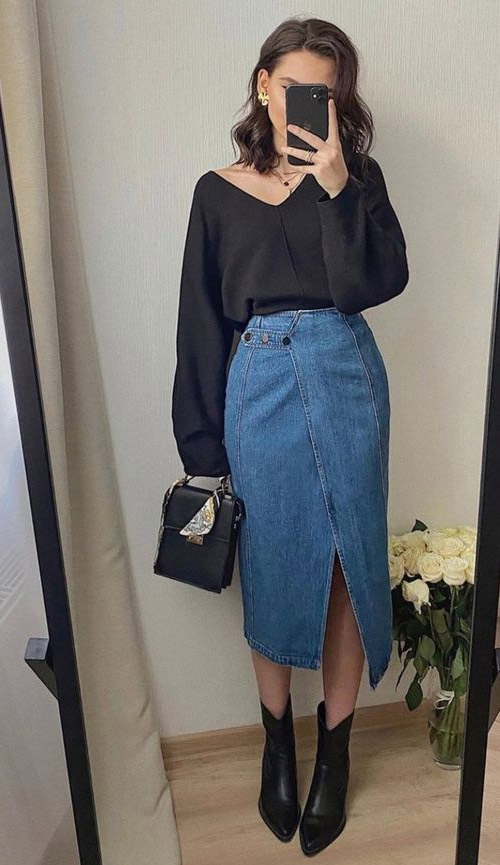 Classic style look